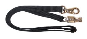 44″-72″ ADJUSTABLE POLY WEB CROSS TIE WITH BULL AND PANIC SNAPS, cross tie, poly webbing, Triple E Manufacturing