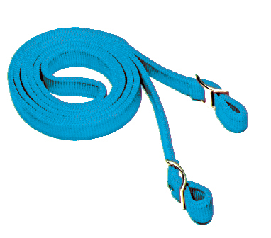 7 1/2′ NYLON GAME REINS, DOUBLE-PLY WITH CONWAY BUCKLES, nylon, game, reins, Triple E Manufacturing
