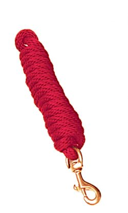MINI LEAD, 3/8″ POLY ROPE W/BOLT SNAP, mini, lead, pony, poly, rope, Triple E Manufacturing