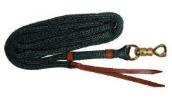 Soft & Durable Double-Braided 13' Trail Lead, trail lead, lead, braided, Triple E Manufacturing