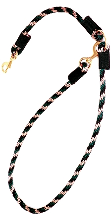 7' Poly Rope Multi-Purpose Trail Lead with Heavy Duty Bronze Snaps, trail lead, Triple E Manufacturing