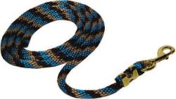 9' Poly Rope Lead with Durable Bronze Malleable Iron Bolt Snap