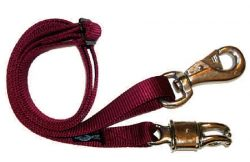 "44""-72"" Adjustable Nylon Cross Tie with Bull and Panic Snaps"