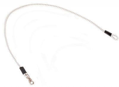 "96"" Shock Cord Multi-Purpose Tie/Lead with Loop and Nickel Plated Bull Snap"