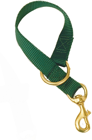 """18"""" Nylon Bucket Tie with Bronze Malleable Iron Bolt Snap & Ring"""
