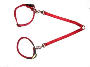 Double Dog Leash Coupler, Durable Bronze Hardware