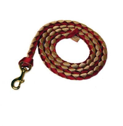 "Braided 3/4"" Nylon 8' Lead w/Durable Bronze Bolt Snap"