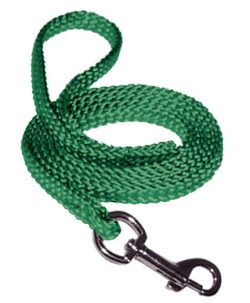4′ SMALL BRAIDED DOG/CAT LEASH, soft braid, dog, leash, Triple E Manufacturing