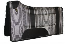 CONTOURED SOUTHWEST SQUARE SADDLE PAD, 32″ X 32″, southwest, contoured, square, saddle, pad, Triple E Manufacturing