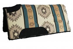 SOUTHWEST CUTBACK, BUILT-UP SADDLE PAD, 32″ X 32″, southwest cutback built-up saddle pad, cutback, saddle, pad, southwest, Triple E Manufacturing