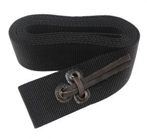 6′ TIE/LATIGO STRAP WITH LEATHER TIES, tie, latigo strap, leather ties, Triple E Manufacturing