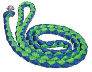 4' Braided Nylon Leash with Braided Handle