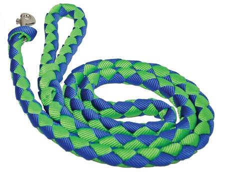 6' Braided Nylon Leash with Braided Handle, braided nylon dog leash, nylon, dog, leash, Triple E Manufacturing