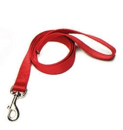 "6' Leash, 1"" Premium Nylon Webbing, nylon leash, Triple E Manufacturing"