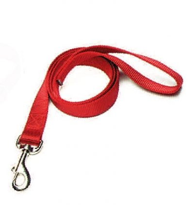 "6' Leash, 1"" Premium Nylon Webbing"