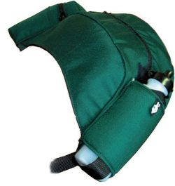 English Cantle Bag, english saddle cantle bag, Triple E Manufacturing
