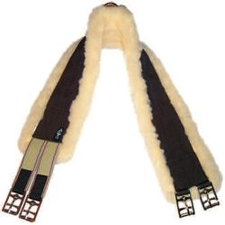 English Fleece Girth, Single End Elastic