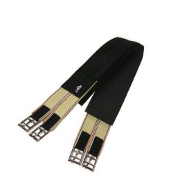 English Stays-Put Neoprene Girth, Double End Elastic