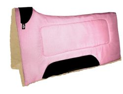 "Contoured Cordura Square Pad w/ Wool Bottom, 30"" x 30"""