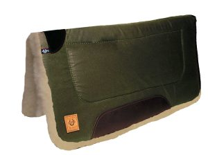 "Wax Rugged Ride Trail Pad w/ Wool Bottom, 30"" x 30"""