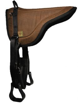 Contoured Wax Rugged Ride Bareback Pad