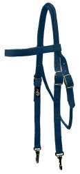 Brow Band Headstall with Snaps