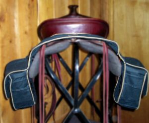 Wax Rugged Ride Saddle Bag