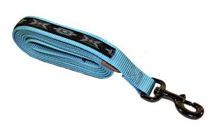 PREMIUM 1″ NYLON 7′ LEAD W/DURABLE STEEL GRAY SNAP & OVERLAY, nylon, lead, overlay, nylon lead, Triple E Manufacturing