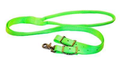 1″ NYLON GAME REINS W/ROLLED CENTER & CONWAY BUCKLES, nylon, game, reins, rolled, center, Triple E Manufacturing