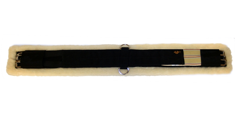 WOOL BACK ENDURANCE GIRTH, STAINLESS STEEL HARDWARE, wool, back, endurance, girth, cinch, Triple E Manufacturing
