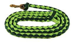"1/2"" x 6' Braided Nylon Mini Lead with 3/4"" Malleable Iron Snap"