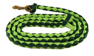 1/2″ X 6′ BRAIDED NYLON MINI LEAD WITH 3/4″ MALLEABLE IRON SNAP, braided, nylon, mini, lead, Triple E Manufacturing