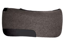 "1/2"" Punched Contoured Wool Pad, 28"" x 30"""