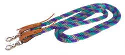 7′ POLY ROPE GAME REINS, poly, rope, game, reins, Triple E Manufacturing
