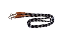 8 1/2′ POLY ROPE GAME REINS, poly, rope, game, reins, Triple E Manufacturing