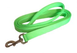 6′ DOG LEASH WITH DOUBLE-PLY 1″ NYLON WEBBING, dog, leash, nylon, Triple E Manufacturing