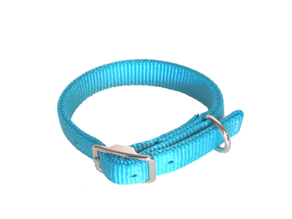 DOG COLLAR, DOUBLE-PLY PREMIUM 3/4″ NYLON, dog, collar, nylon, Triple E Manufacturing