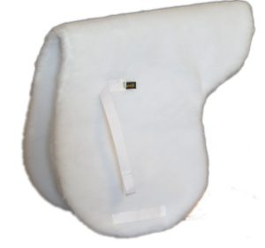 ECONOMY ENGLISH CONTACT SADDLE PAD, DOUBLE-PLY FLEECE, economy, english, contract, saddle, pad, fleece, Triple E Manufacturing