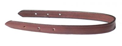 5/8″ MINI HALTER LEATHER CROWN, mini, halter, leather, crown, Triple E Manufacturing