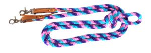 10′ POLY ROPE GAME REINS, poly, rope, game, reins, Triple E Manufacturing, 10' poly rope game reins