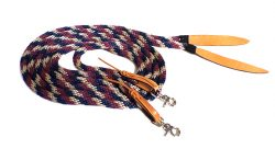 7′ POLY ROPE SPLIT REINS, poly, rope, split, reins, Triple E Manufacturing