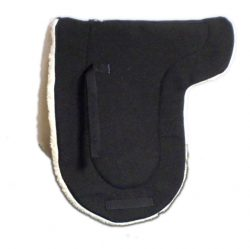 ENGLISH DRESSAGE WOOL-BACK SADDLE PAD, english, dressage, wool, saddle, pad, Triple E Manufacturing