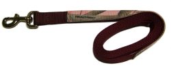 REALTREE® CAMOUFLAGE 7′ NYLON LEAD W/MB SNAP, camouflage, nylon, lead, Triple E Manufacturing