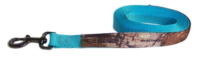 REALTREE® CAMOUFLAGE 7′ NYLON LEAD W/SG SNAP, camouflage, nylon, lead, Triple E Manufacturing