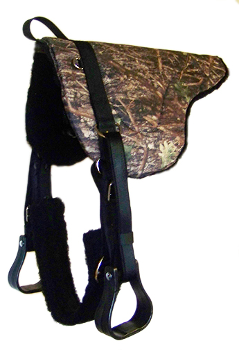 CAMOUFLAGE BAREBACK PAD WITH COMFORT GRIP PANELS, camouflage, bareback, pad, comfort, grip, Triple E Manufacturing