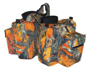 CAMOUFLAGE DELUXE HORN BAG, camouflage, deluxe, horn, bag, Triple E Manufacturing