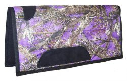 CAMOUFLAGE SQUARE PONY SADDLE PAD WITH FELT BOTTOM, 26″ X 26″, camouflage, square, pony, saddle, pad, felt, Triple E Manufacturing