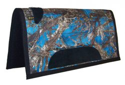 CAMOUFLAGE MINI SADDLE PAD WITH FELT BOTTOM, 22″ X 22″, camouflage, mini, saddle, pad, felt, Triple E Manufacturing