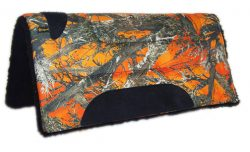 CAMOUFLAGE PONY TRAIL SADDLE PAD, SQUARE 26″ X 26″, camouflage, pony, trail, saddle, pad, square, Triple E Manufacturing