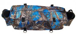CAMOUFLAGE DELUXE CANTLE BAG, deluxe, cantle, bag, Triple E Manufacturing